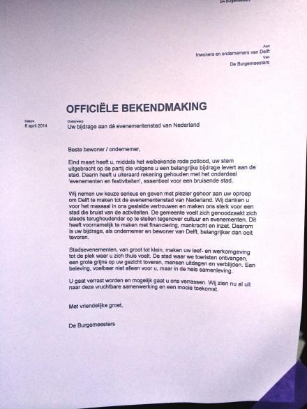 """""""Delft: dé evenementenstad van Nederland"""""""