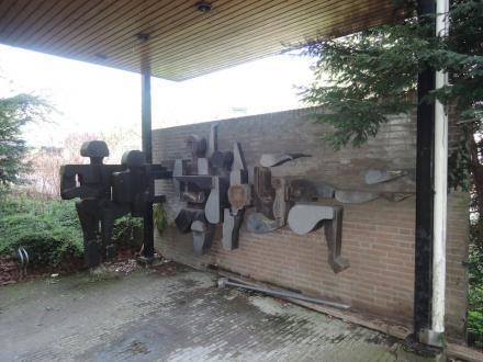Kunstwerk Nieuwelaan Delft
