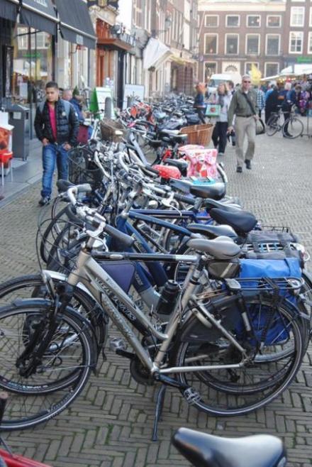 Overal fietsen