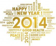 Gelukkig Nieuwjaar - Happy New Year 2014