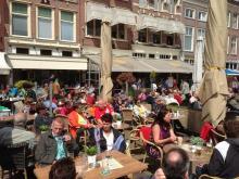 Terrassen in Delft