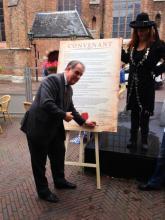 Convenant horeca Delft getekend
