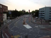 Sint Sebastiaansbrug: piepende tram bocht?