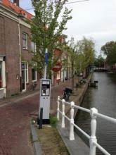 Delft nieuwe parkeerautomaten in binnenstad