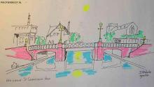 S. Heidstra: Een nieuwe St. Sebastiaansbrug
